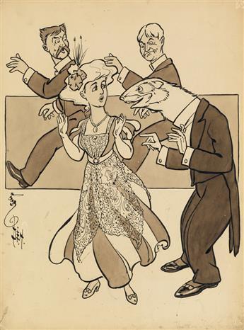 W. W. DENSLOW. The Par-lor Ferret.