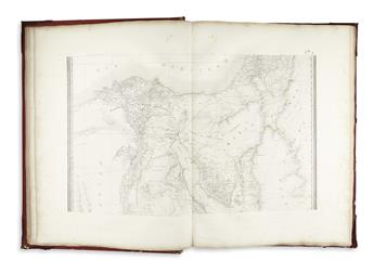 (EGYPT.) Jacotin, Pierre. Carte Topographique de l Egypte et de Plusieurs Parties des Pays Limitrophes;