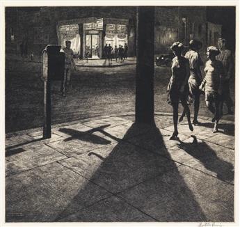 MARTIN LEWIS Corner Shadows.
