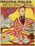 MAX SCHWARZER (1882-1955) REGINA-PALAS.  Circa 1915. 48x36 inches. Markert & Son, Dresden.