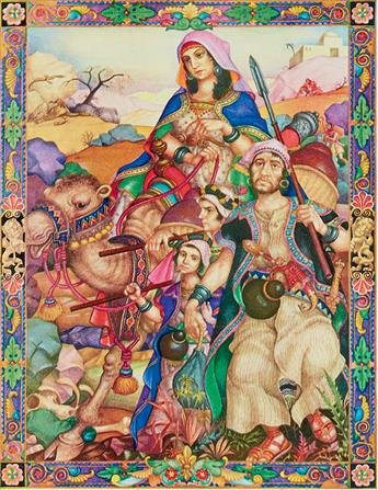 (BIBLE.) SZYK, ARTHUR. The Book of Job * The Book of Ruth.