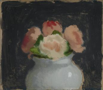 ROBERT KULICKE Roses in a Vase.