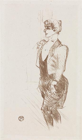 HENRI TOULOUSE-LAUTREC Mary Hamilton.