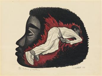 ELIZABETH CATLETT (1915 - 2012) Torture of Mothers.