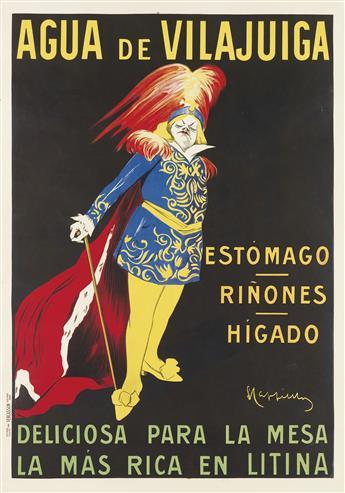 LEONETTO CAPPIELLO (1875-1942). AGUA DE VILAJUIGA. 1912. 55x38 inches, 139x97 cm. Vercasson, Paris.