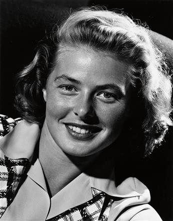HALSMAN, PHILIPPE (1906-1979) Ingrid Bergman.