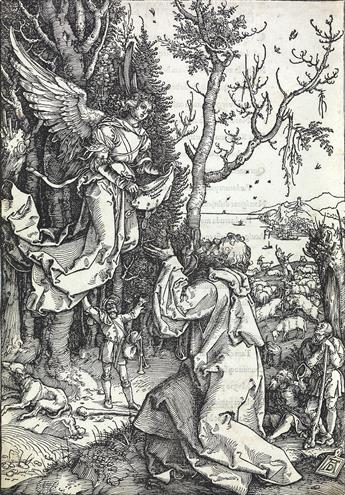 ALBRECHT DÜRER Joachim and the Angel.