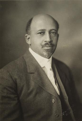 ADDISON SCURLOCK (1883-1964) Portrait of William E. Du Bois (1968-1963), American educator and author.