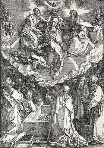 ALBRECHT DÜRER The Assumption and Coronation of the Virgin.