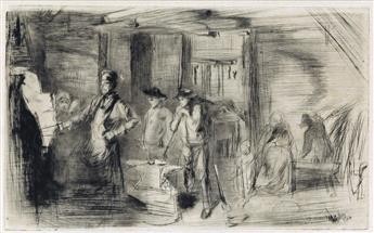 JAMES A. M. WHISTLER The Forge.