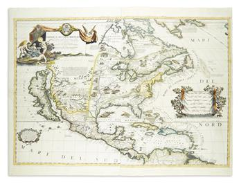 CORONELLI, VINCENZO MARIA. America Settentrionale Colle Nuove Scoperte Sin All Anno 1688.