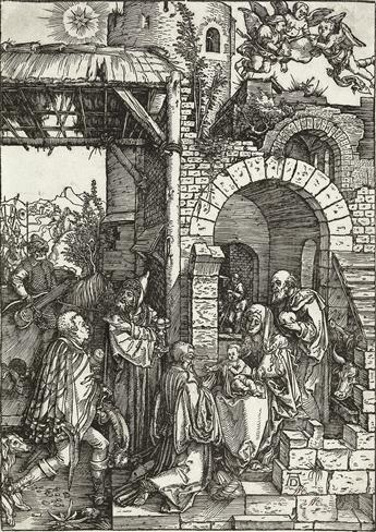 ALBRECHT DÜRER The Adoration of the Magi.