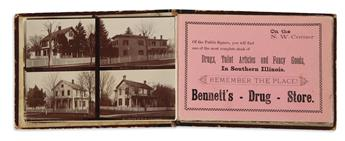 (ILLINOIS.) DeMoulin, Edward; photographer. Photographic Views of the City of Greenville, Ill.