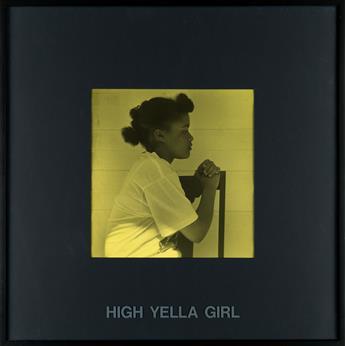CARRIE MAE WEEMS (1953 -   ) High Yella Girl.