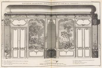 (ARCHITECTURE.) Blondel, Jacques-François. De la Distribution des Maisons de Plaisance et de la Décoration des Édifices en Général.