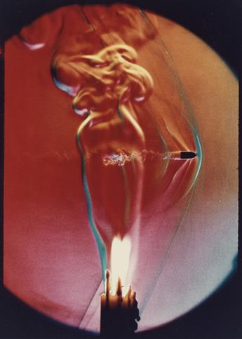 HAROLD EDGERTON (1903-1990) Bullet through candle flame.