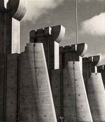 (BOURKE-WHITE, MARGARET) (1904-1971) Fort Peck Dam, Montana.