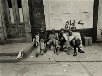 BRUCE DAVIDSON (1933- ) East 100th Street, N.Y.