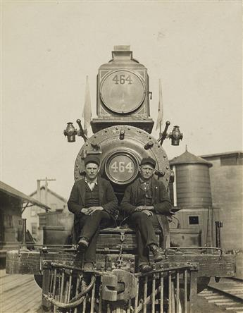 (CINCINNATUS LINE--THE DELAWARE, LACKAWANNA & WESTERN RAILROAD) Mini-archive of Frank Newkirk, Engineer, with 30 captioned photographs