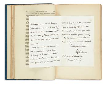 (DISRAELI, BENJAMIN.) Monypenny and Buckle. The Life of Benjamin Disraeli, Earl of Beaconsfield. Interleaved with over 180 autographs b
