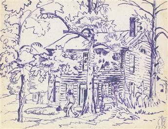 CHARLES BURCHFIELD Old Tavern.