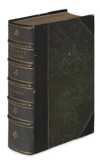 DICKENS, CHARLES. The Posthumous Papers of the Pickwick Club.