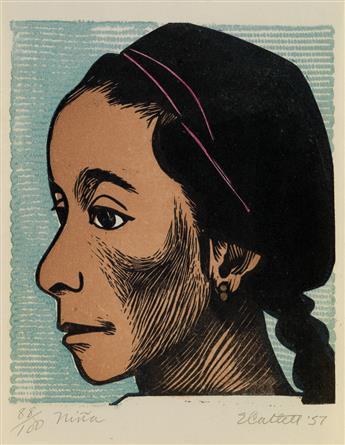 ELIZABETH CATLETT (1915 - 2012) Niña.