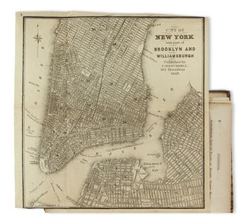 (NEW YORK CITY.) Holley, Orville L. A Description of the City of New York:
