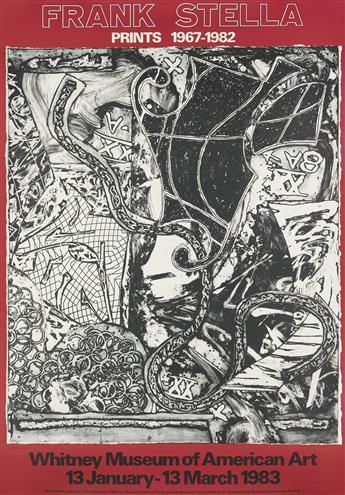 FRANK STELLA Whitney Museum of American Art: Prints 1967-1982.