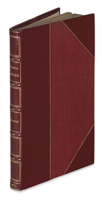 DICKENS, CHARLES. The Mystery of Edwin Drood.