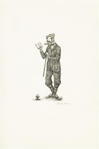 EDWARD GOREY. Golfer.