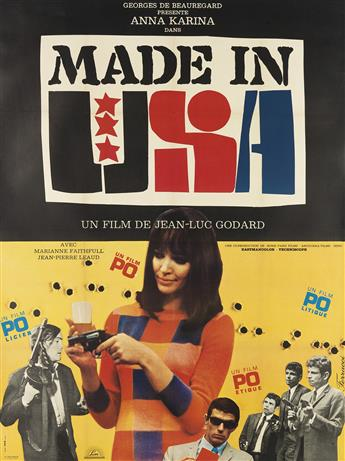 RENÉ FERRACCI (1927-1982). MADE IN USA. 1966. 61x45 inches, 155x116 cm. Saint-Martin, Paris.