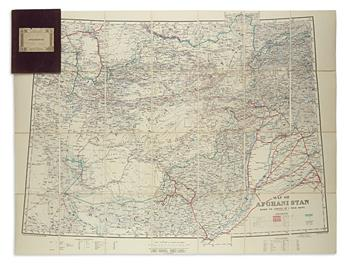 (AFGHANISTAN.) British War Office; and Stanford, Edward. Map of Afghanistan Based on Survey of India Maps.