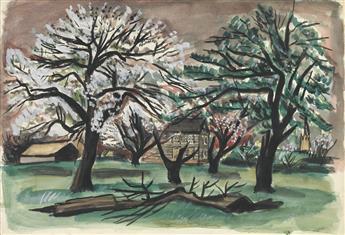 FAIRFIELD PORTER Spring Trees.