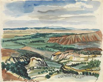FAIRFIELD PORTER Southwestern Landscape.