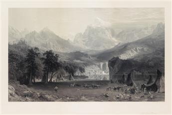ALBERT BIERSTADT (after) The Rocky Mountains, Landers Peak