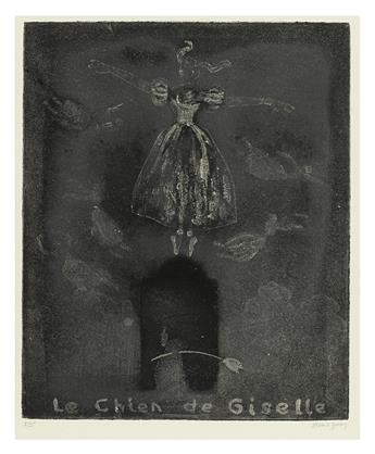GOREY, EDWARD. Chien de Giselle (Ballerinas).