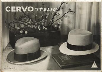 ANTONIO BOGGERI (1900-1989). CERVO ITALIA. Windowcard. 8x11 inches, 21x29 cm. Studio Boggeri, Milan.