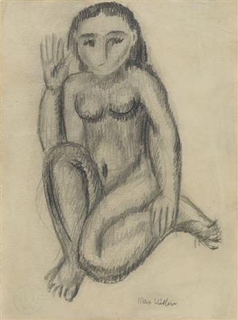 MAX WEBER Female Nude.