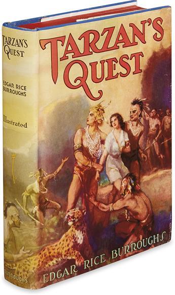 BURROUGHS, EDGAR RICE. Tarzans Quest.