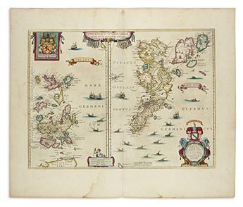 (SCOTLAND.) Blaeu, Willem. Orcandum et Schetlandiae Insularum Accuratissima Descriptio.