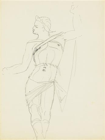 (THEATER) JEAN COCTEAU. Sketch.