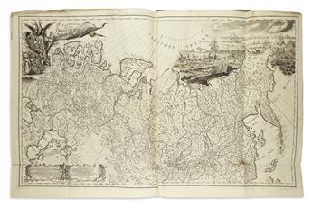 DE LISLE, JOSEPH NICOLAS. Atlas Rossiiskoi.