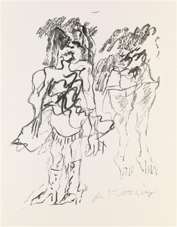 WILLEM DE KOONING Two Women.