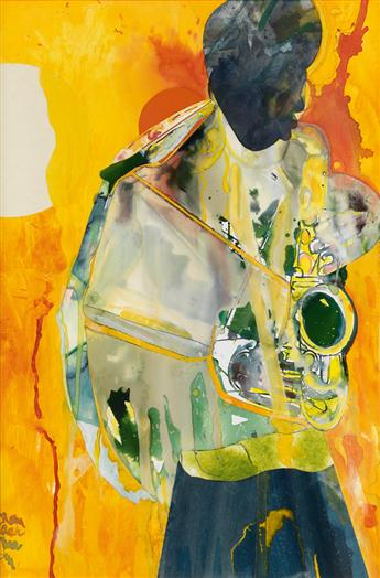 ROMARE BEARDEN (1911 - 1988) All The Things You Are.