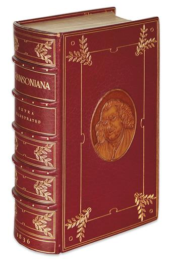 (BINDINGS - KELLIEGRAM.) Johnsoniana; or, Supplement to Boswell: Being, Anecdotes and Sayings of Dr. Johnson.