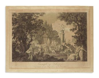 (AMERICAN REVOLUTION--HISTORY.) Verger, Peter C., engraver. Triumph of Liberty, Dedicated to its Defenders in America.