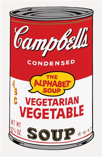 ANDY WARHOL (after) Campbells Soup