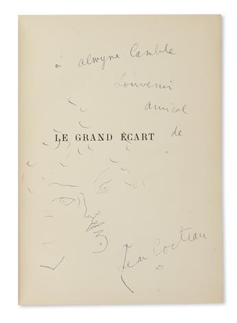 COCTEAU, JEAN. Le Grand Ecart.