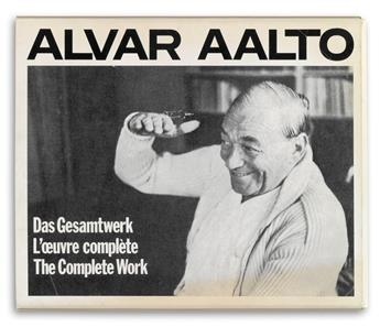 (ARCHITECTURE.) Aalto, Alvar. The Complete Work.